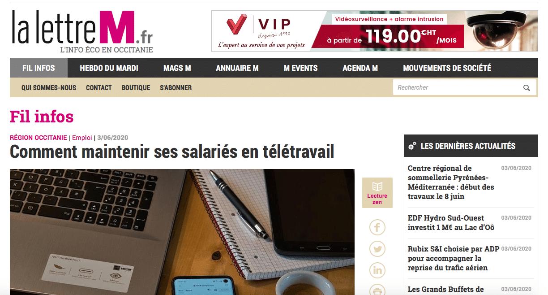 Interview : Comment maintenir ses salariés en télétravail ?