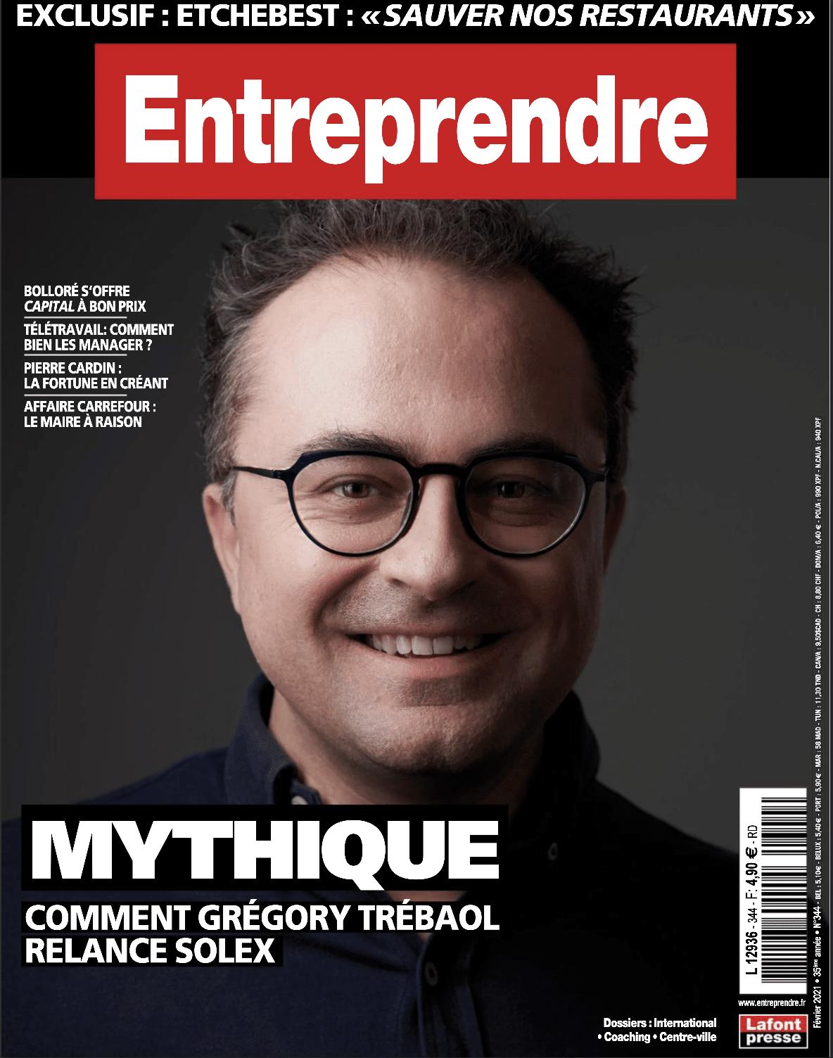 Interview Magazine Entreprendre – Spécial Management